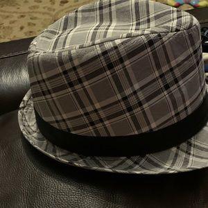 Fedora Hat Plaid